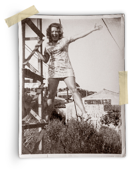 margaret solis as a young woman